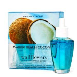 🥥 WAIKIKI BEACH COCONUT WALLFLOWER REFILLS 2-PACK